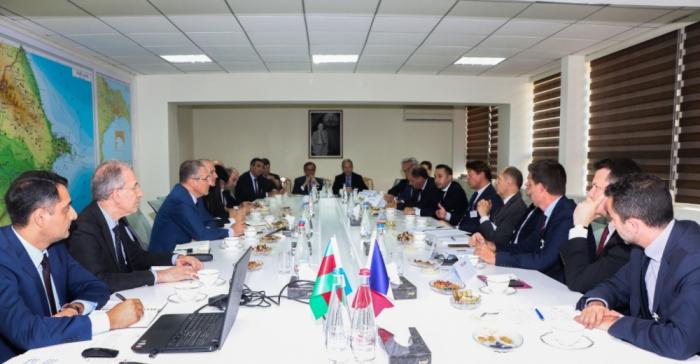 Les spécialistes azerbaïdjanais et français font un échange de vues sur la protection de l