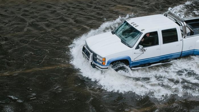 Emergencia en EE.UU.  : Las calles de Nueva Orleans son ríos por las fuertes lluvias en toda Luisiana
