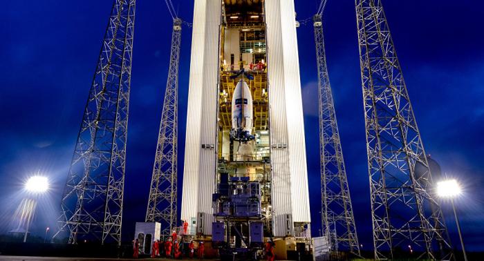 Panne nach Vega-Start von Kourou: Satellitenmission gescheitert