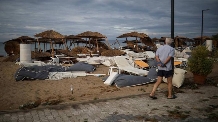 Seis turistas muertos y decenas de heridos por un temporal en el norte de Grecia