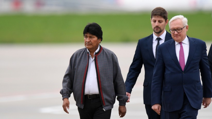 Evo Morales se reúne con Vladímir Putin