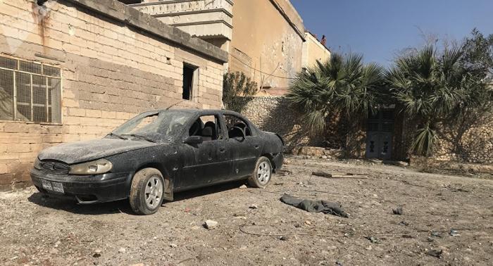 Afrin: Autoexplosion fordert mindestens elf Tote