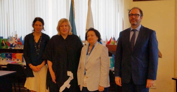 Ombudsman Dunya Miyatoviç ilə görüşüb