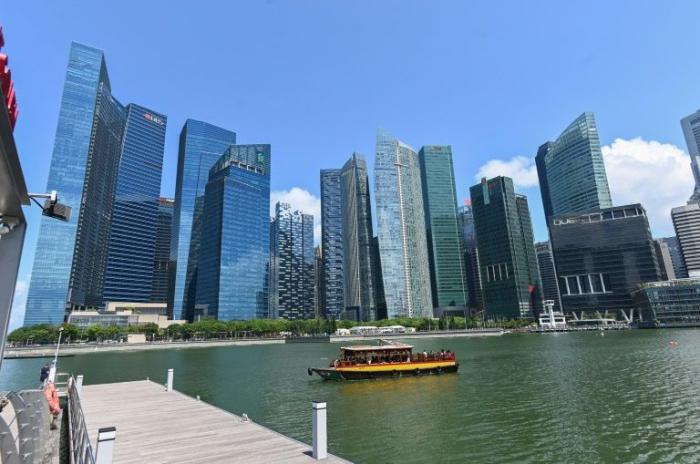 Singapore economy shrinks in warning for global trade