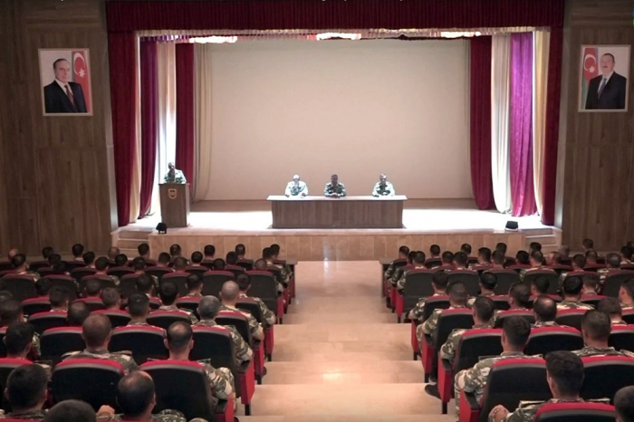 Combined Arms Army holds trainings for commanders, deputy commanders of companies, batteries -  VIDEO