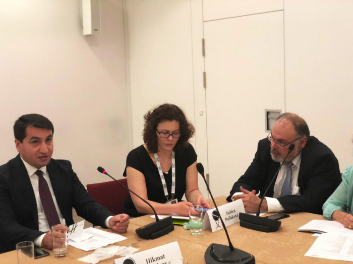 Hikmet Hajiyev talks about Azerbaijan's foreign policy priorities at Chatham House