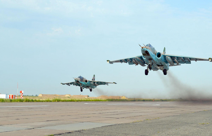 Combat training of Azerbaijan's Air Force aircraft continues