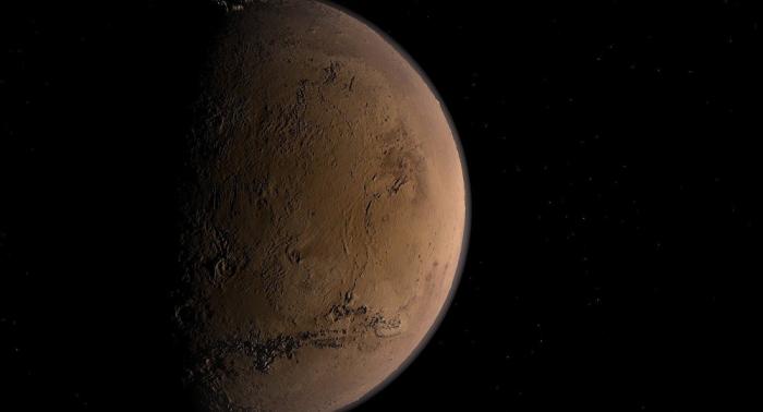 La NASA publica una imagen del rover Curiosity hecha desde la órbita de Marte