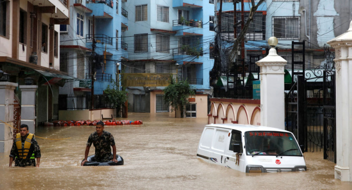 Asciende la cifra de muertos por inundaciones en Nepal