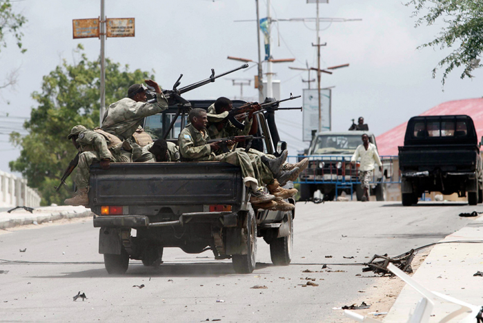 Somali forces kill 15 al-Shabab militants after hotel attack