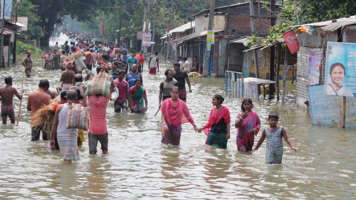 Over 35 die, 2.6 mln affected in flood-affected areas in India