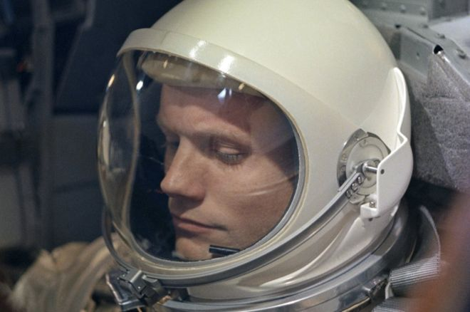 Neil Armstrong - the man behind the legend