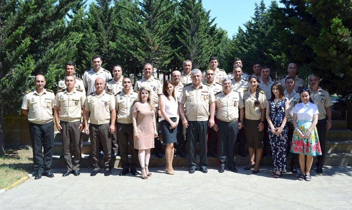 Azerbaijan's War College hosts English Language Courses graduation ceremony