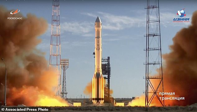 Russia FINALLY launches its X-ray detecting Spektr-RG telescope after 25 YEARS of delays
