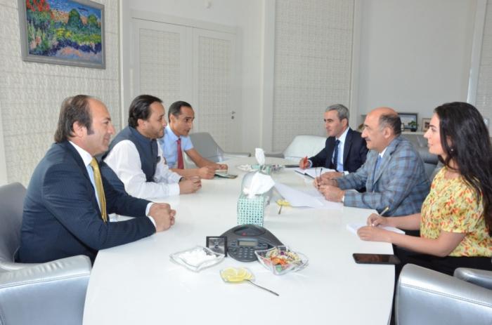 Le Pakistan est intéressé par le développement davantage des liens avec l'Azerbaïdjan