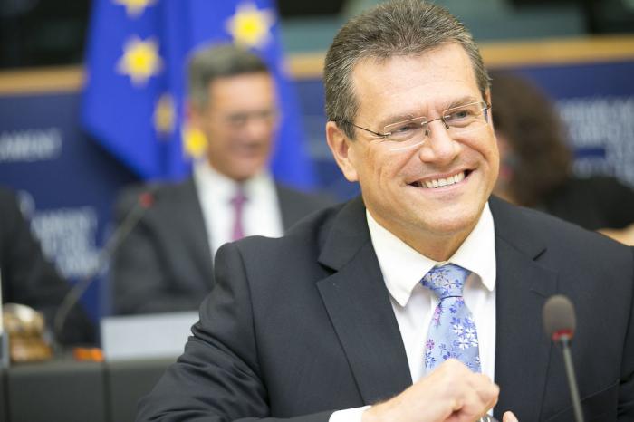 Sefcovic:   Wir haben sehr geholfen, die reibungslose Entwicklung des südlichen Gaskorridors sicherzustellen