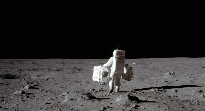 Last remaining moon landing video tapes up for auction