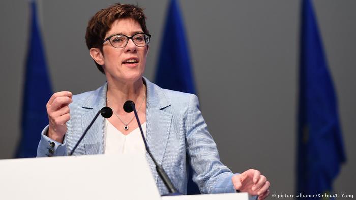 Leader of Merkel