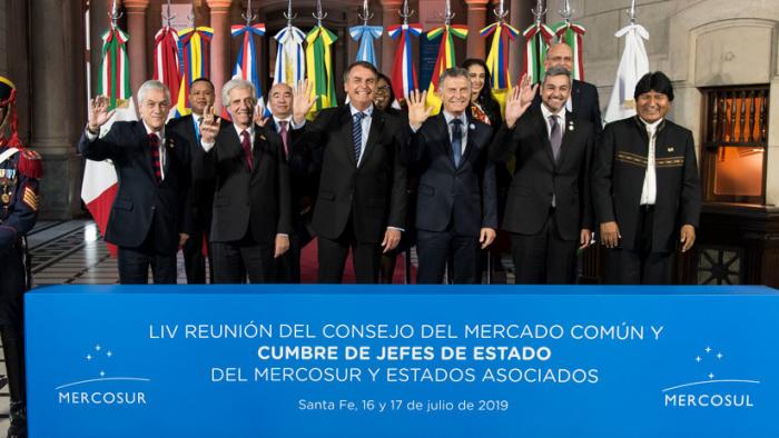 Finaliza la cumbre de Mercosur con el acuerdo con la Unión Europea como eje principal