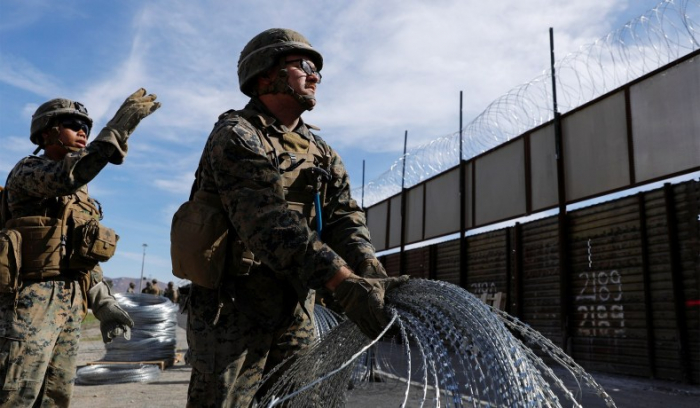 Pentagon to deploy additional 2,100 troops to U.S.-Mexico border