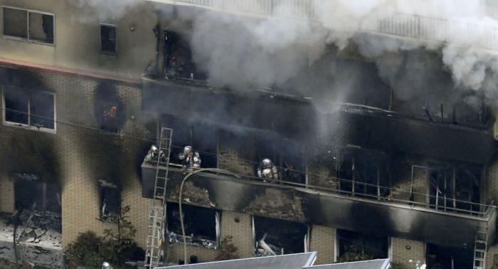 Brandanschlag auf japanisches Anime-Studio: Zahl der Todesopfer steigt auf 24