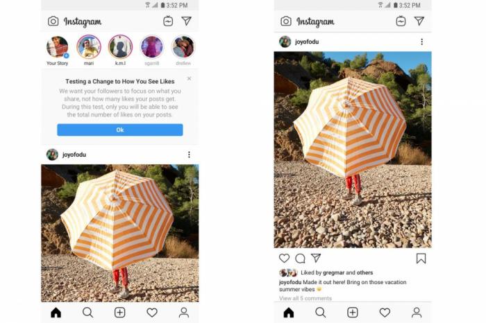 """Instagram ocultará los """"me gusta"""" en estos 6 países"""