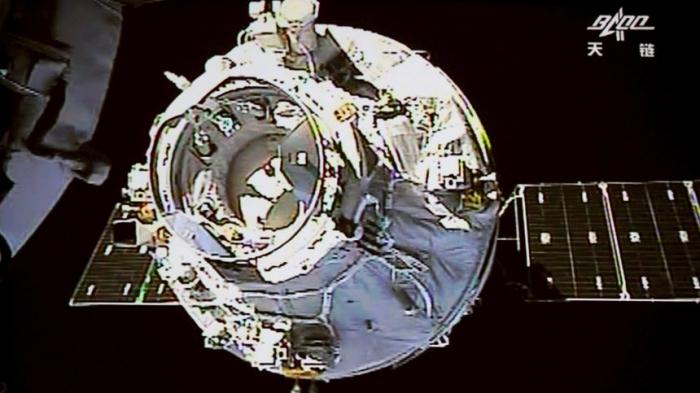Chinesisches Raumlabor soll in der Erdatmosphäre verglühen