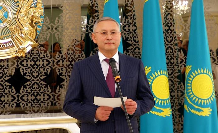 Kazakh ambassador to Azerbaijan relieved of his duties