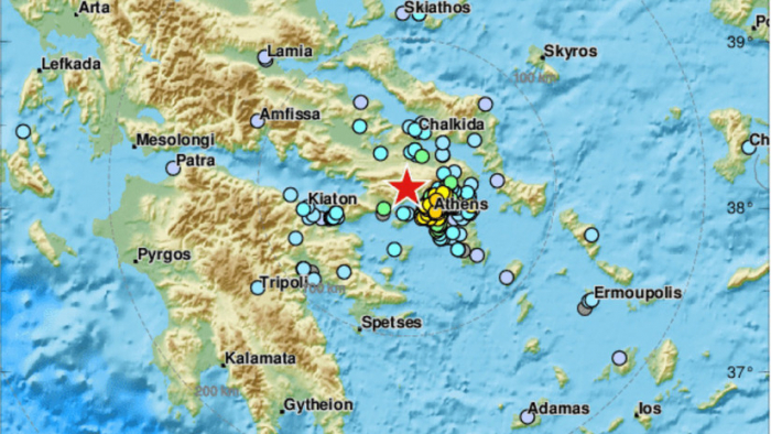 Un sismo de magnitud 5,1 se registra cerca de Atenas y causa pánico