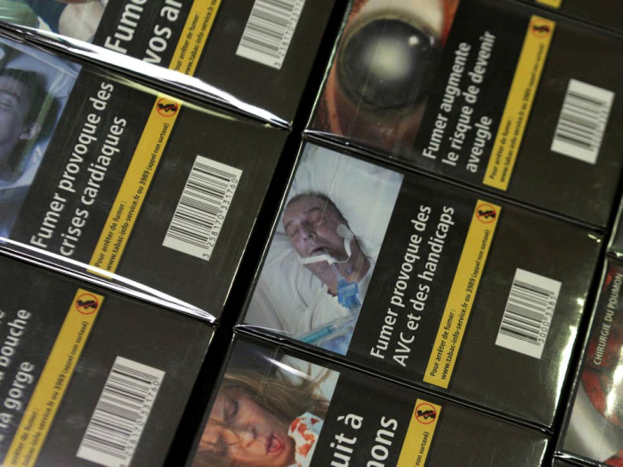 Man furious after spotting his own amputated leg on cigarette packs