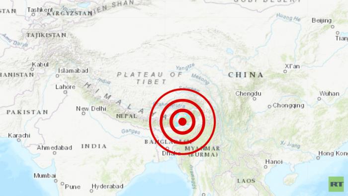 Un terremoto de magnitud 5,5 se siente en la India y el Tíbet
