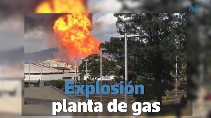 VIDEO:   Se registra una fuerte explosión en una central de gas en China
