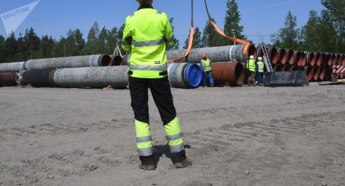 Außenminister Lawrow:   Dänemark politisiert den Bau von Nord Stream 2
