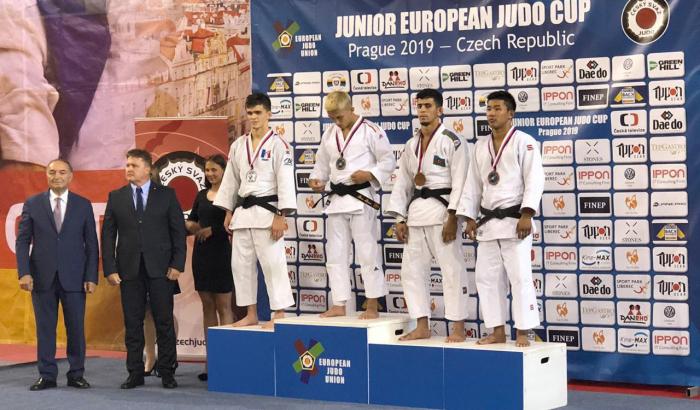 Azərbaycan cüdoçuları üç medal qazanıblar