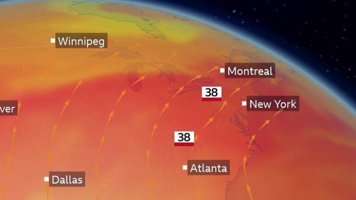Dangerous heatwave starts hitting US and Canada