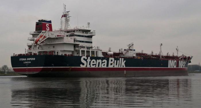 Irán detiene al buque petrolero Stena Impero tras un choque con un barco pesquero