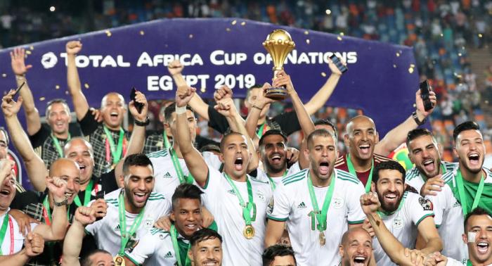 Argelia pone récord y se corona campeón de fútbol en la Copa Africana