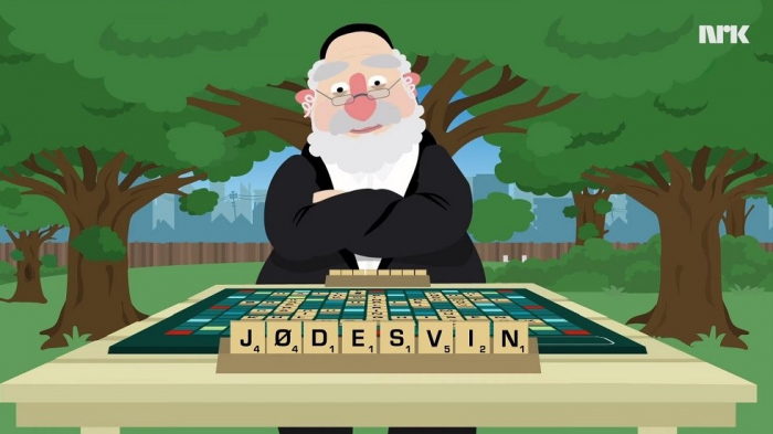 Norwegian 'Jewish pig' cartoon courts controversy-VIDEO