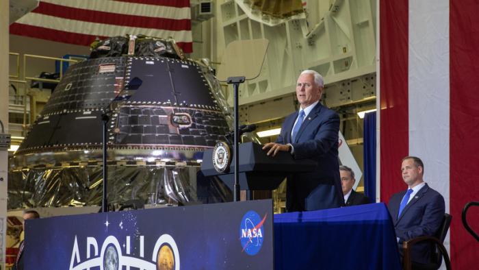 La NASA lanzará la nave Orion alrededor de la Luna en preparación para una misión tripulada