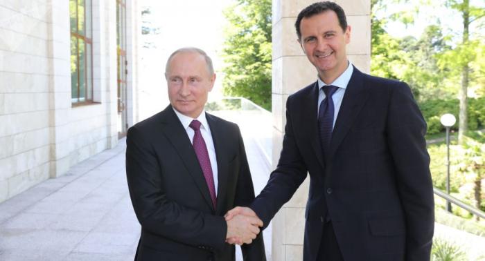 Putin reafirma en un mensaje a Bashar Asad que Moscú seguirá apoyando a Damasco