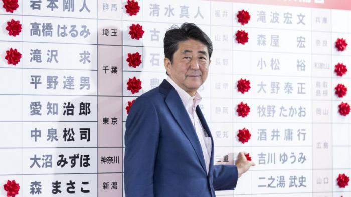 Abe verfehlt Zweidrittelmehrheit bei Oberhauswahl