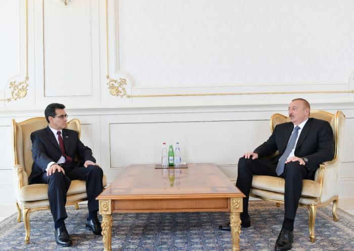 Prezident yeni səfirləri qəbul edib - FOTOLAR (Yenilənib)