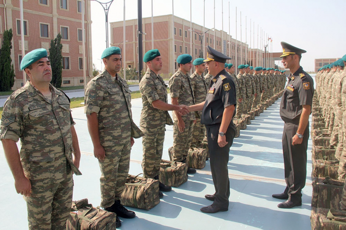 Azerbaijani peacekeepers leave for Afghanistan (VIDEO+PHOTOS)