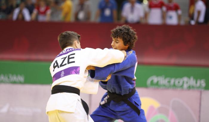Cüdoçularımız Olimpiya Festivalında 3 medal qazanıb