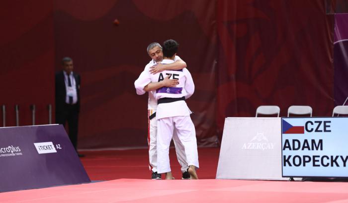 Cüdoçumuz EYOF-da gümüş medal qazanıb
