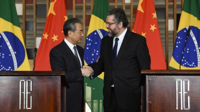 Brasil ratifica su interés de profundizar relaciones con China