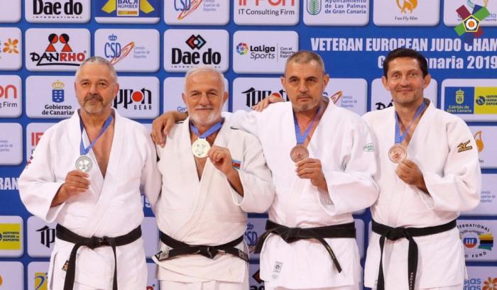 Usta cüdoçularımız İspaniyada 5 medal qazanıblar