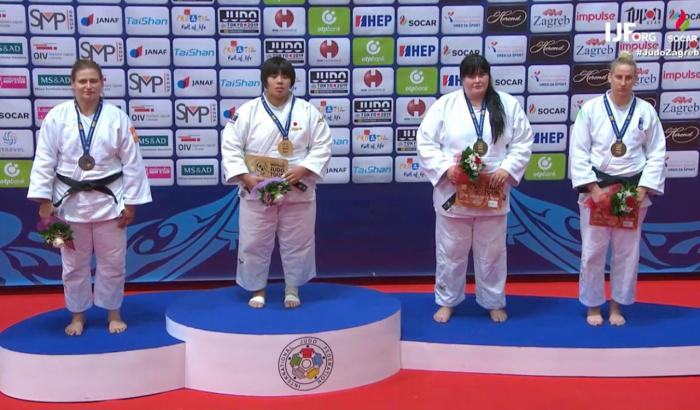 Cüdoçumuz Zaqrebdə bürünc medal qazanıb