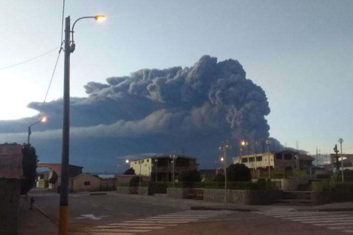 Pérou : éruption d