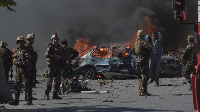 Əfqanıstanda terror: Ölü və yaralılar var